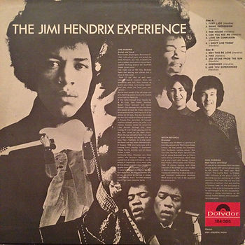 jimi hendrix rotily vinyls LP/ are you experienced 1967 norway