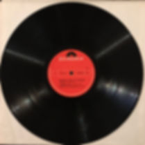 jimi hendrix rotily vinyls collector/band of gypsys side 2  italy 1970
