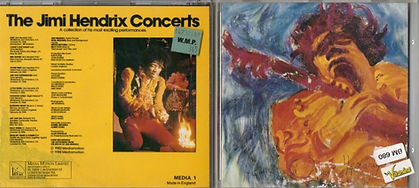 jimi hendrix collector cd / the jimi hendrix concerts 1988 england