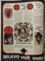 jimi hendrix magazine 1968 /bravo november 18 1968