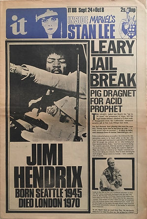 jimi hendrix newspapers 1970 / it :  September 24, 1970