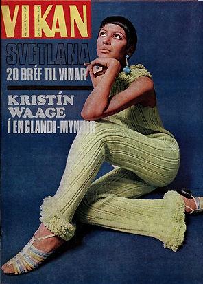 jimi hendrix collector magazine 1967/vikan iceland
