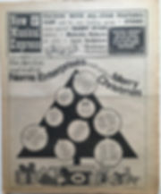 jimi hendix newspaper 1968/new musical express december 21 1968