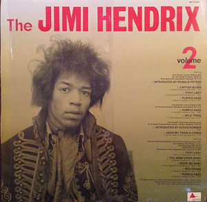color the wild man of pop plays vol 2/jimi hendrix rotily vinyl collector