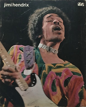 jimi hendrix magazines 1970 death/  muziek expres october 70 1970