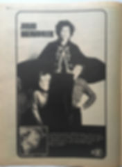 jimi hendrix newspaper 1968/go november 1968  electric ladyland AD