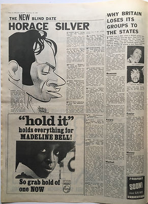 jimi hendrix newspaper 1968 /melody maker november 30 1968
