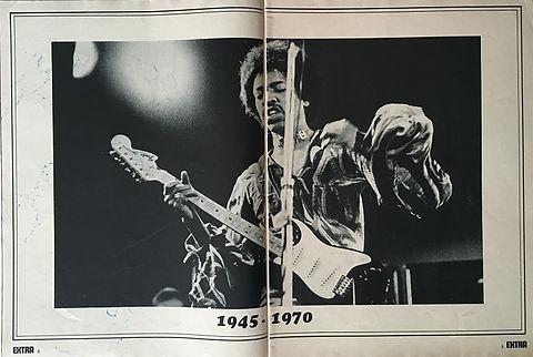 jimi hendrix magazines 1970 death/  extra : december 1970