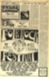 jimi hendrix newspaper 1969/los angeles free press may 9 199/festival folk rock santa clara 1969