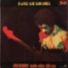 JIMI HENDRIX ROTILY VINYLS COLLECTOR/band of gipsies 1970 mexico