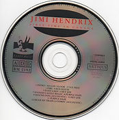 jimi hendrix bootlegs cd/first time in canada