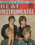 jimi hendrix magazine / beat instrumental january 1968