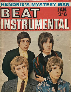 jimi hendrix magazine / beat instrumental january 1968
