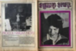 jimi hendrix newspaper october 12 1968 / rolling stone