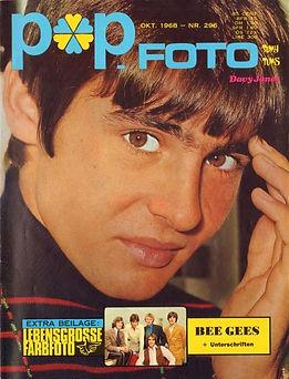 jimi hendrix magazine 1968/popfoto november 1968