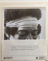 jimi hendrix memorabilia / bio : jimi hendrix recording from the film usa 1973