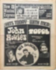 jimi hendrix newspaper/new musical express june 8 1968