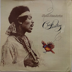jimi hendrix vinyl album lp / crash landing  usa 1975