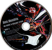 jimi hendrix colletor bootlegs cd/ disc 2/ no more a rolling stone