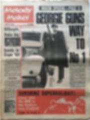 jimi hendrix newspaper/melody maker 20/1/1968
