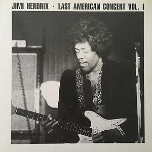 jimi hendrix bootlegs vinyls 1970 / swingin' pig :  last american concert vol 1