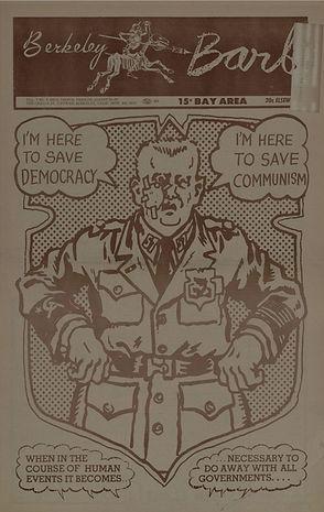 jimi hendrix newspape/berkeley barb august 23/29 1968