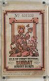 jimi hendrix memorabilia 1970/ ticket isle of wight festival 1970