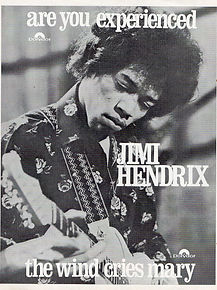 jimi hendrix rotily magazine collector/teenbeat 7/1967