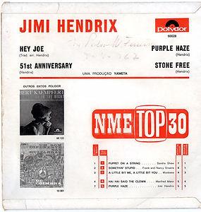 hendrix rotily patrick/EP hey joe/purple haze