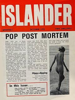 jimi hendrix magazines 1970 / islander october 1970