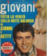 jimi hendrix magazine 13/7/1968 italy giovani