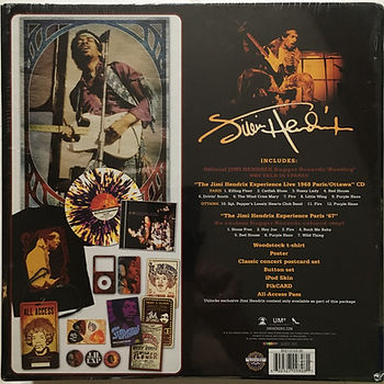 jimi hendrix vinyls family / fan pack