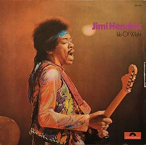 jimi hendrix album LPs/ vinyls/isle of wight germany 1971