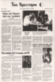 jimi hendrix newspapers 1968/spectrum march 22, 1968