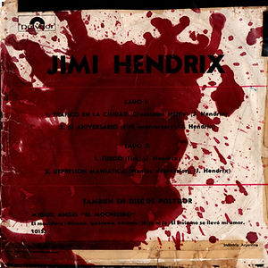 jimi hendriwx collector EP/vinyls 45r/EP argentina crosstown traffic polydor 1969