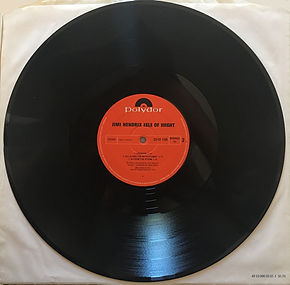 jimi hendrix album LPs vinyls/side 2 isle of wight germany 1971