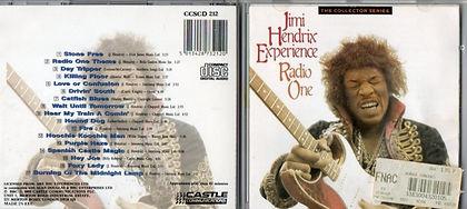 jimi hendrix  cd album / radio one  the collector series
