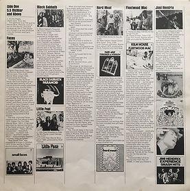 jimi hendix vinyls albums lps 1969/looney tunes merrie melodies box 3 lp /bio
