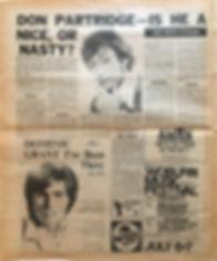jimi hendrix newspaper/new musical express july 6 1968 ad: woburn music festival 6&7 july 1968