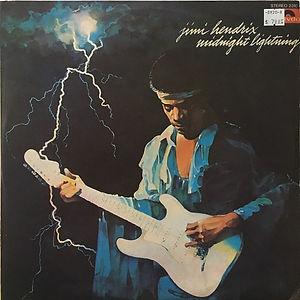 jimi hendrix vinyl album midnight lightning  / 1975 israel