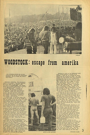 jimi hendrix newspaper 69/the rag  august 25 1969