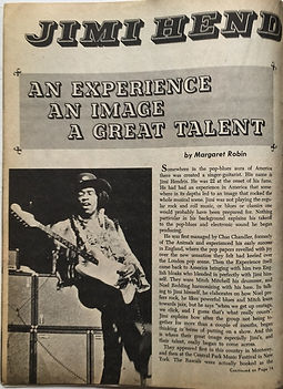 an experience an image a great talent/black music 1969