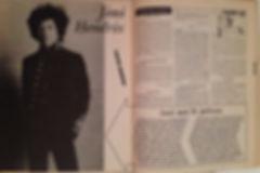 jimi hendrix magazine/juke box 1/8/67