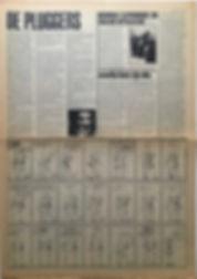 jimi hendrix newspaper 1968/ hit week november 15 1968