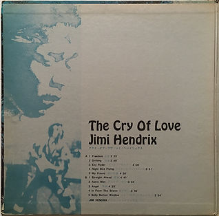 cry of love/album vinyl lp jimi hendrix collector