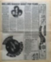 jimi hendrix newspaper/new musical express 6/1/67