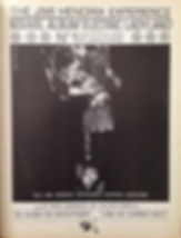 jimi hendrix rotily memorabilia/ AD electric ladyland 68
