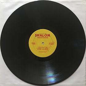 jimi hendrix bootlegs vinyls 1970 / shalom cbm 3213 :  hendrix rainbow bridge  side 1