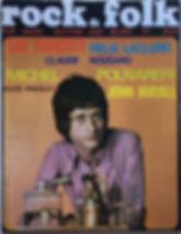 jimi hendrix magazines/rock & folk august/september 1968