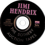 jimi hendrix collector bootlegs cd/the sotheby auction tapes/midnight beat/ 1994